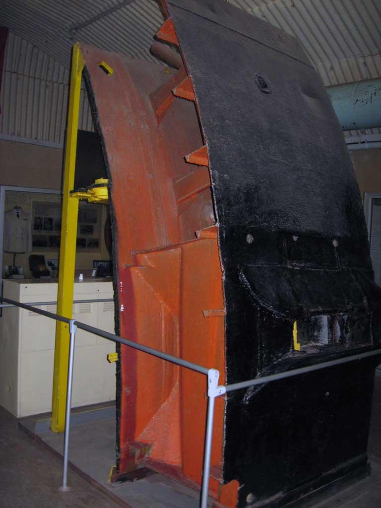 Часть корпуса подводной лодки