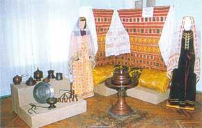 Фрагмент этнографической экспозиции