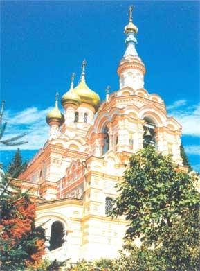 Собор св. князя Александра Невского в Ялте