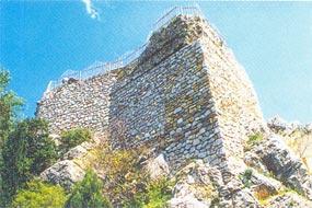 Фрагмент крепости Горзувиты