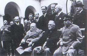 Участники Ялтинской конференции