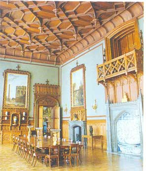 Парадная столовая в Воронцовском дворце