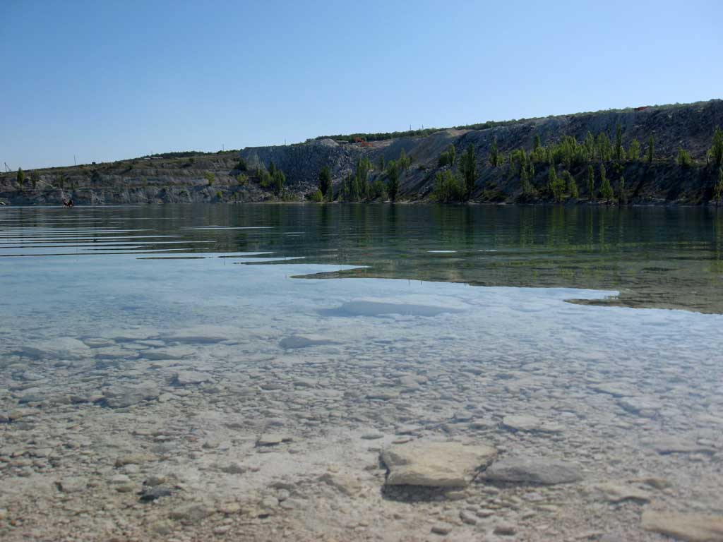 Озеро в Скалистом