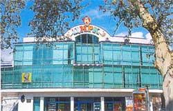 реконструированное здание цирка
