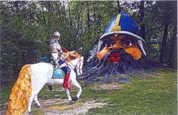 Уголок сказок в Детском парке
