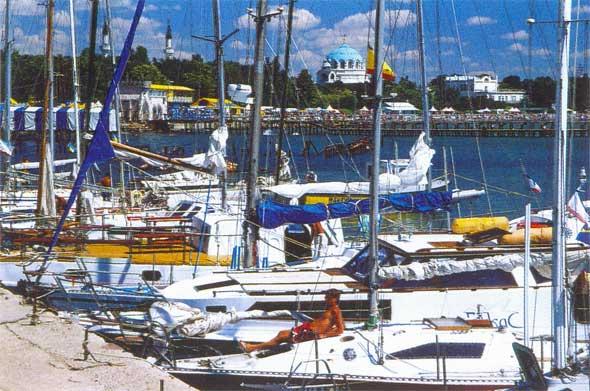 Парусные яхты в Евпатории