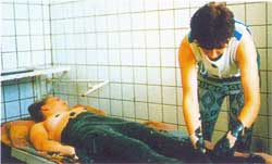 ванны в Мойнакской грязелечебнице