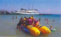 остров водных развлечений