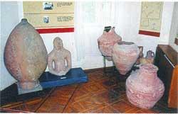 Экспозиция евпаторийского краеведческого музея