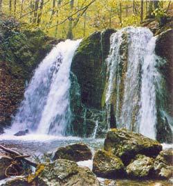 водопад Головкинского на реке Узень-Баш