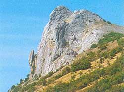 Гора Бакаташ — «Лягушка»