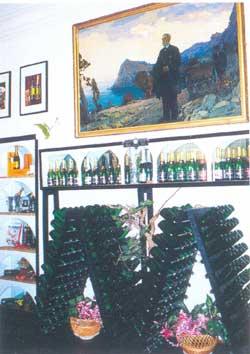 музей истории виноделия, расположенный в доме Льва Голицына