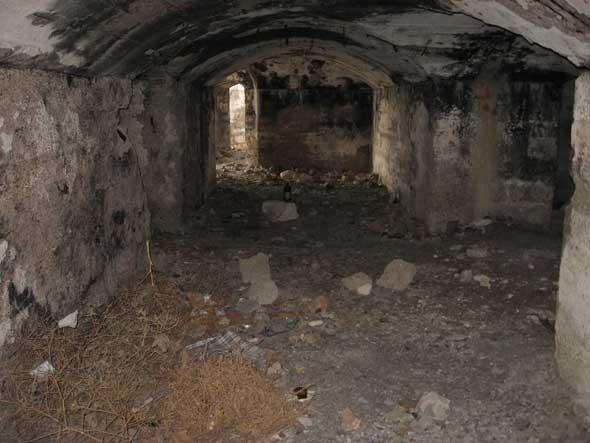 тоннели батареи №16