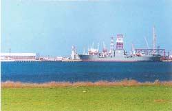 порт у села Межводное