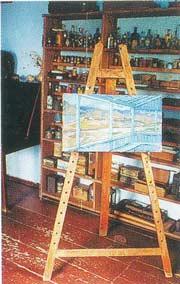 экспозиция в доме-музее М.Волошина