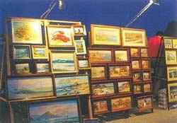 продажа картин в Коктебеле